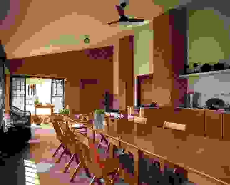 Churrasqueira 1 Cozinhas rústicas por IDALIA DAUDT Arquitetura e Design de Interiores Rústico