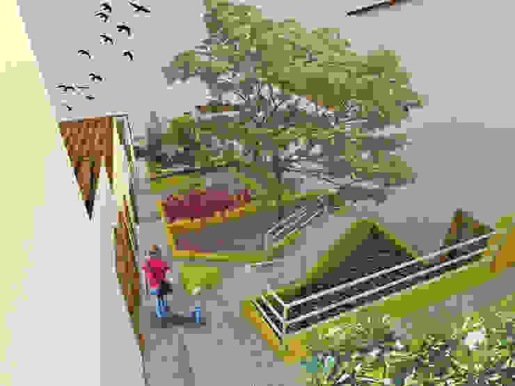 Jardin moderne par Taller/MT Moderne