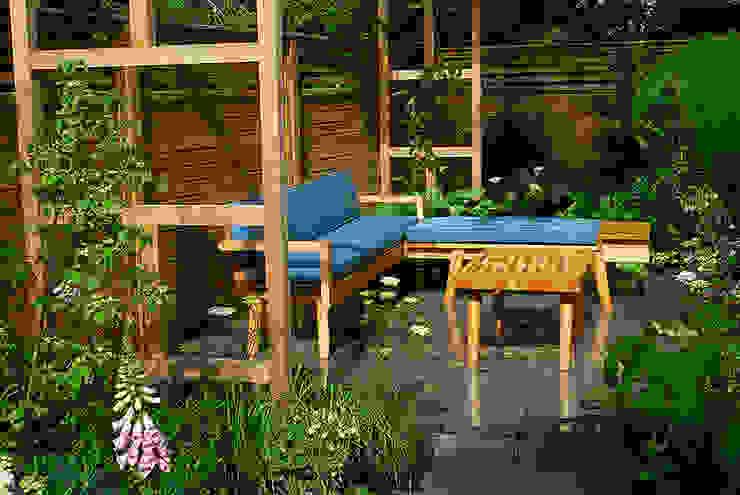 Contemporary Garden Design by London Based Garden Designer Josh Ward Modern Garden by Josh Ward Garden Design Modern Slate