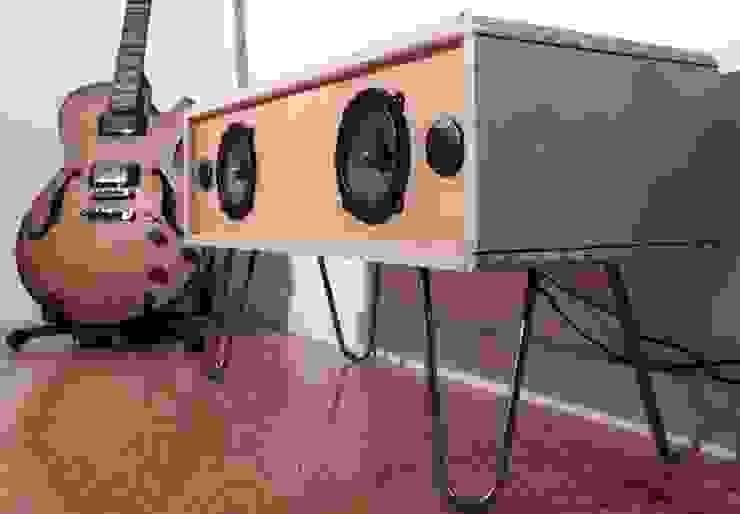 Vue global de la sound box por Atelier São Vicente