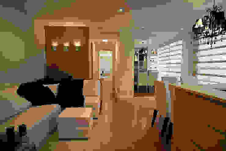 Apartamento Salas de estar modernas por RP Arquitetura Moderno