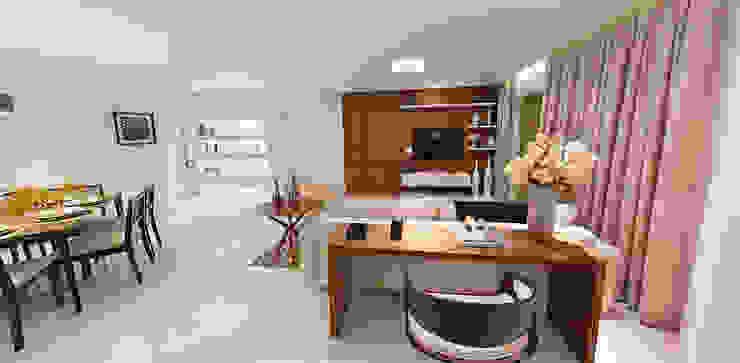 Maison Brodeaux Salas de estar modernas por Aline Dinis Arquitetura de Interiores Moderno
