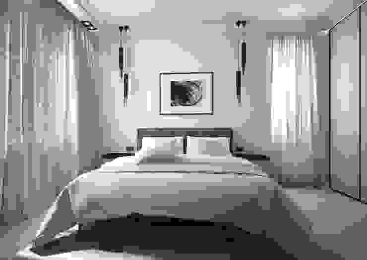 Спальня Спальня в стиле минимализм от Альбина Романова Минимализм