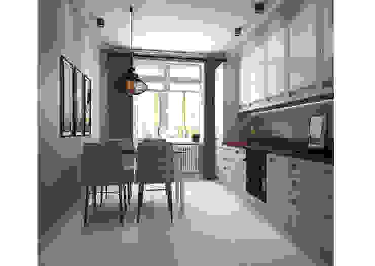 Кухня Кухня в стиле минимализм от Альбина Романова Минимализм
