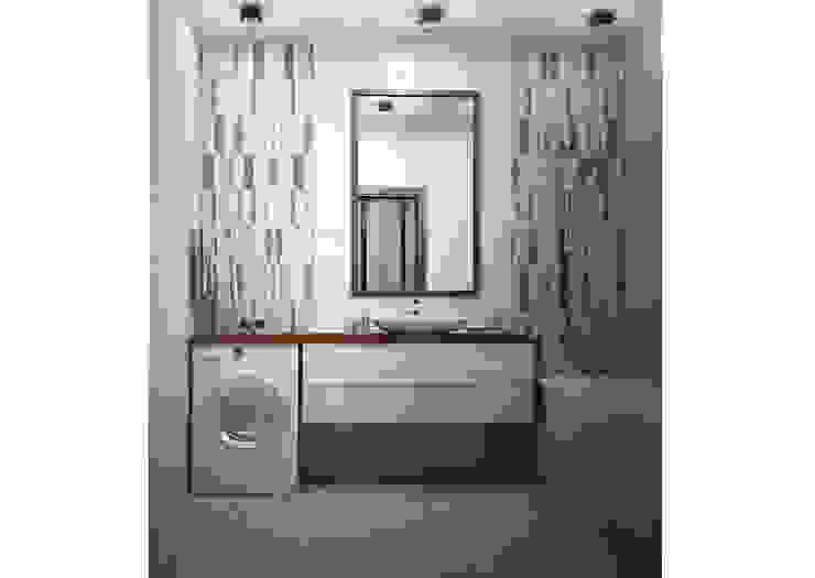Су Ванная комната в стиле минимализм от Альбина Романова Минимализм