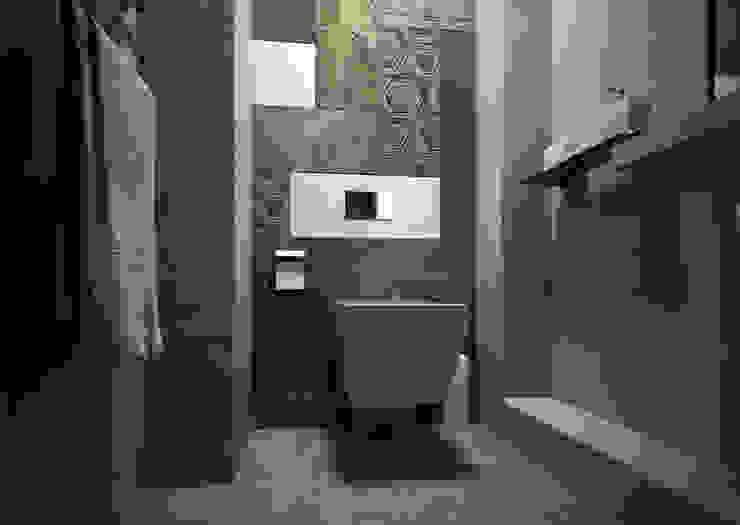 С/у Ванная комната в стиле минимализм от Альбина Романова Минимализм