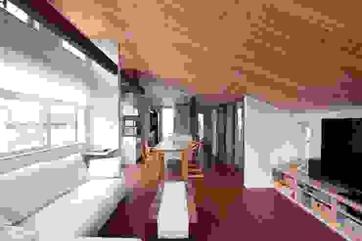 스칸디나비아 거실 by アトリエグローカル一級建築士事務所 북유럽