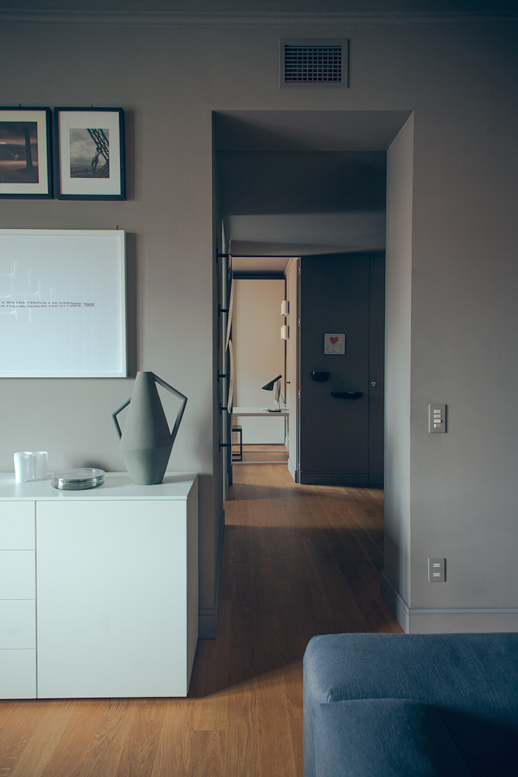 house#01 di andrea rubini architetto Minimalista Carta