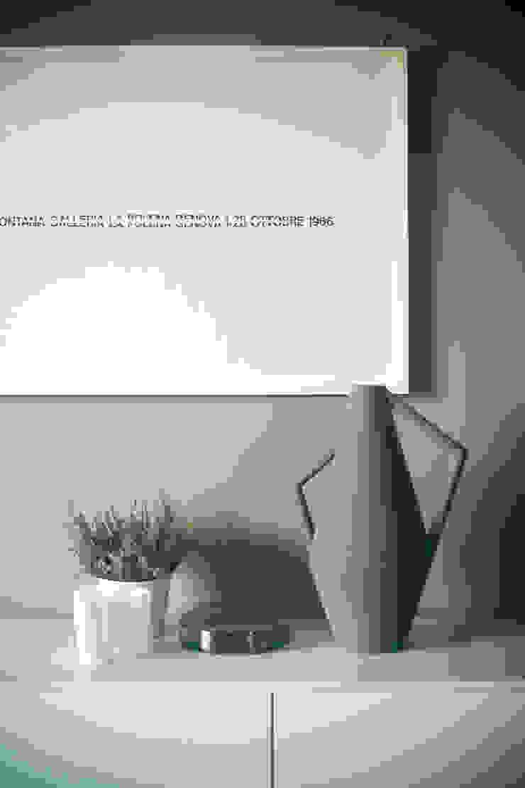 house#01 accessori di andrea rubini architetto Minimalista Carta