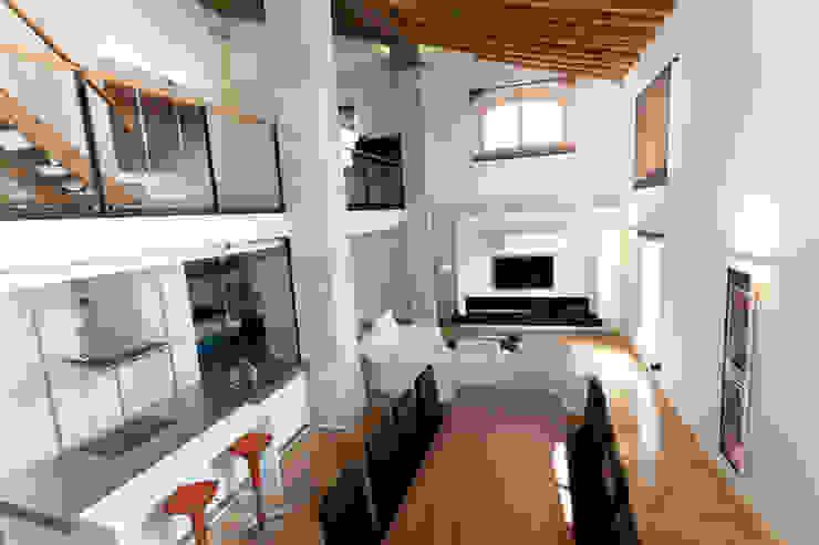 reforma Vivienda Salones de estilo rural de AZD Diseño Interior Rural