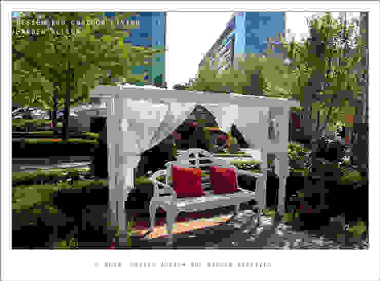 Modern garden by Garden Studio Allium Modern