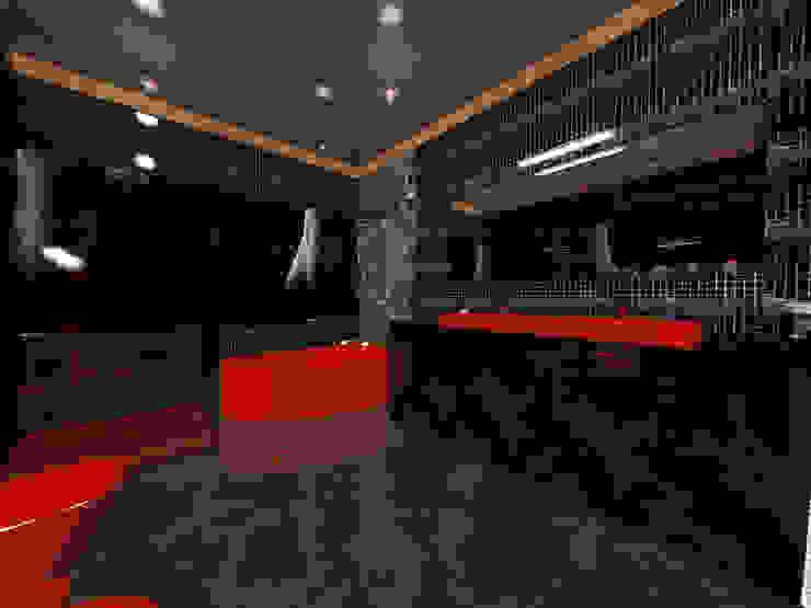 Nowa Droga W Standardach Moderne Badezimmer Rot