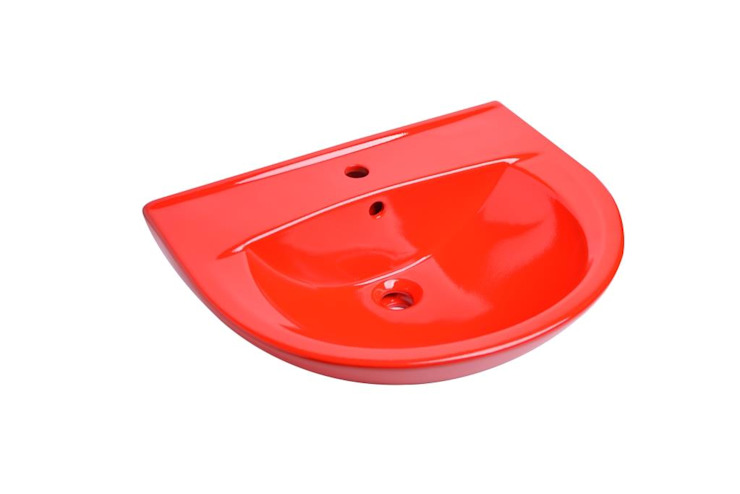 Nowa Droga W Standardach BathroomSinks Red