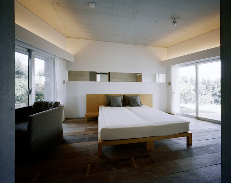 2階LDK モダンスタイルの寝室 の Guen BERTHEAU-SUZUKI Co.,Ltd. モダン