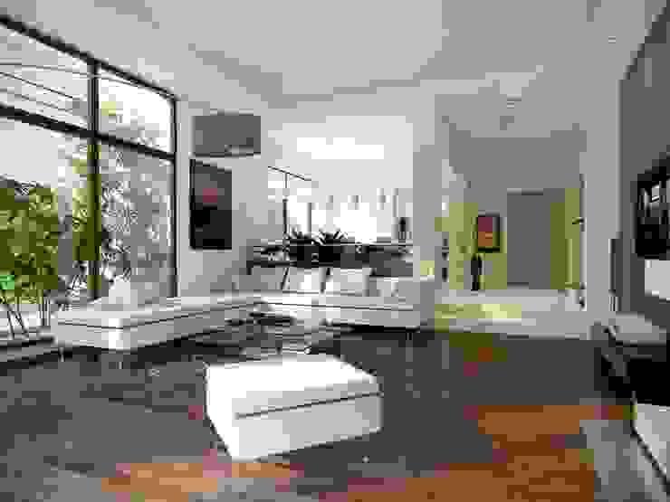 Wnętrze projektu Jaspis 6: styl , w kategorii Salon zaprojektowany przez Biuro Projektów MTM Styl - domywstylu.pl,