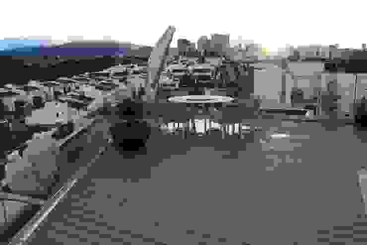 Restaurante-Bar Casas modernas de Wooden Moderno
