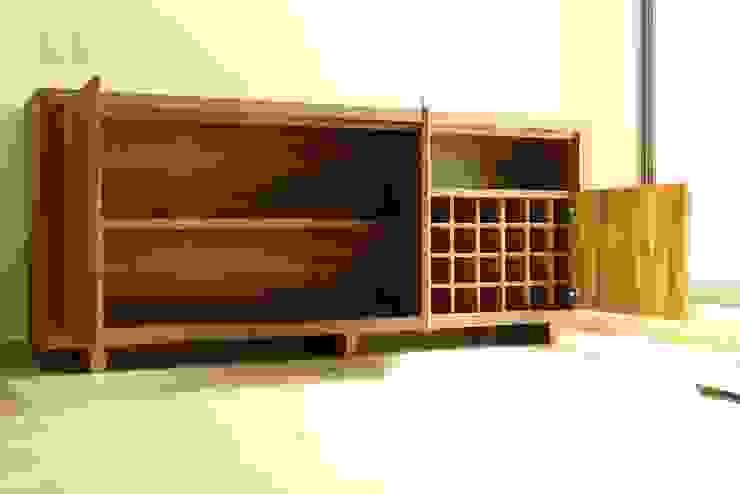 Muebles y espacios de Wooden Moderno