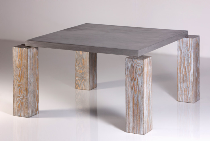 ALTAVOLA NO. 2.C od Altavola Design Sp. z o.o. Industrialny Drewno O efekcie drewna