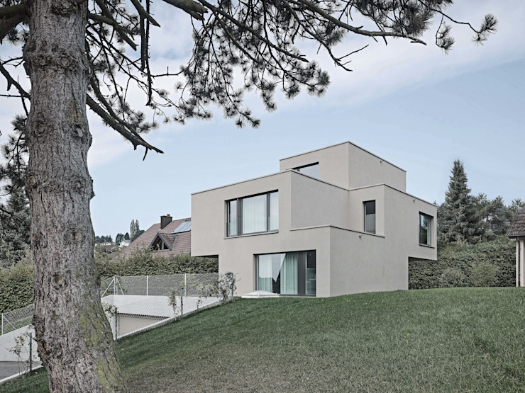 Modern houses by phalt Architekten AG Modern