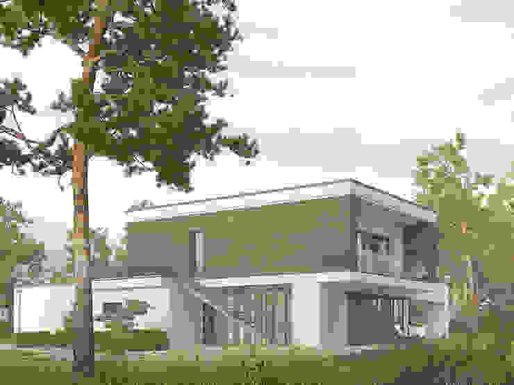 Houses by Biuro Projektów MTM Styl - domywstylu.pl,