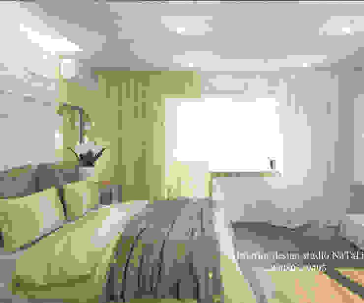 Дизайн интерьера в Челябинске Спальня в стиле модерн от Студия дизайна Натали Модерн