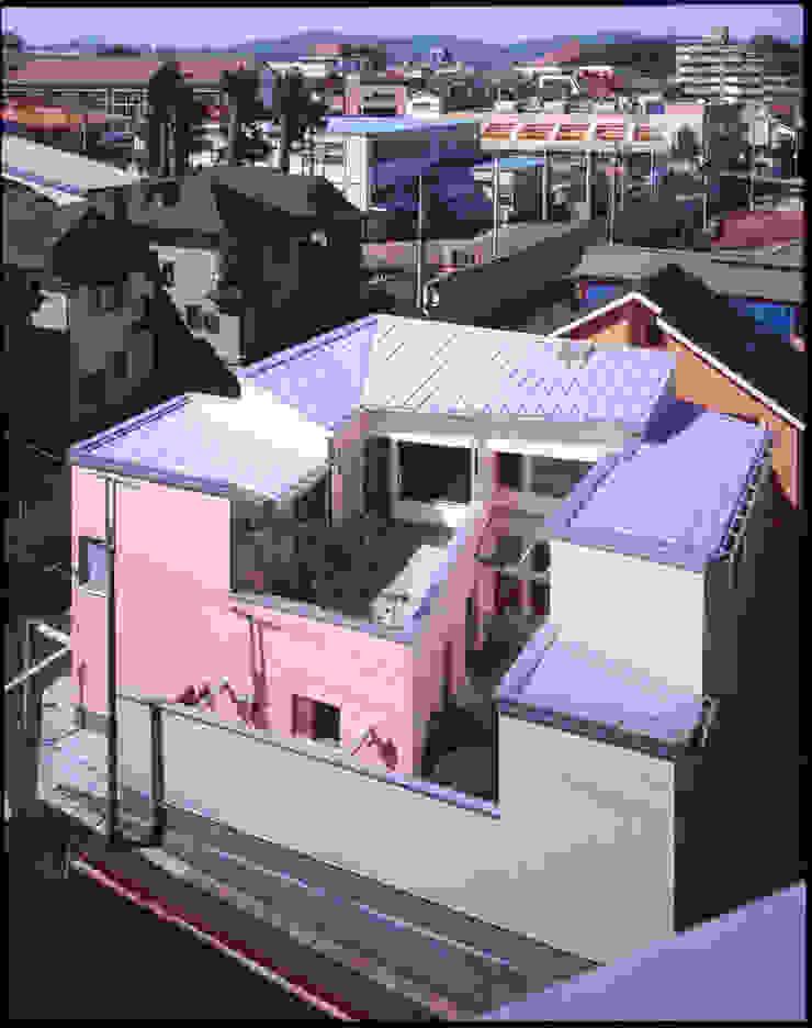 外観全景 モダンな 家 の Guen BERTHEAU-SUZUKI Co.,Ltd. モダン