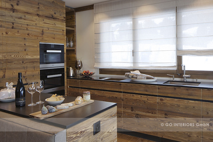 Rustic style kitchen by homify Rustic