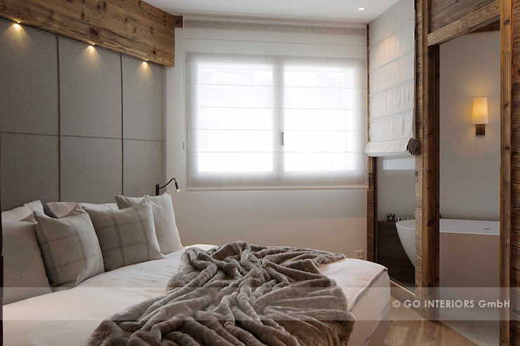 Rustic style bedroom by Go Interiors GmbH Rustic