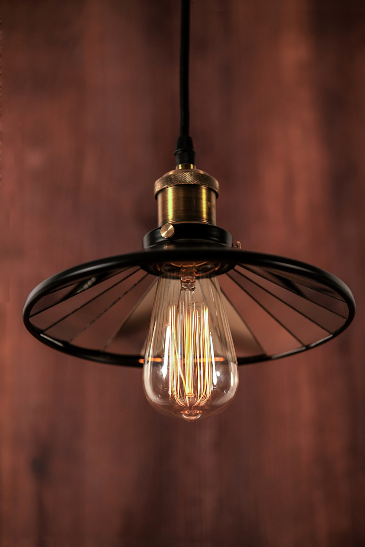EINDHOVEN LOFT NO. 3-LAMPA WISZĄCA od Altavola Design Sp. z o.o. Industrialny Matal