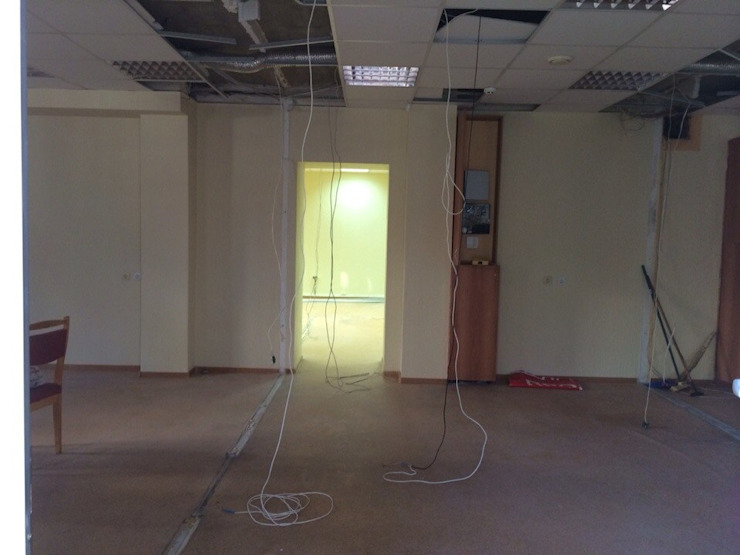 фото помещения до ремонта от Мастерская Дизайна