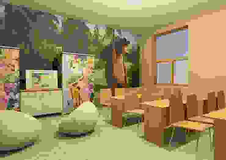 Визуализация игровой комнаты от Мастерская Дизайна