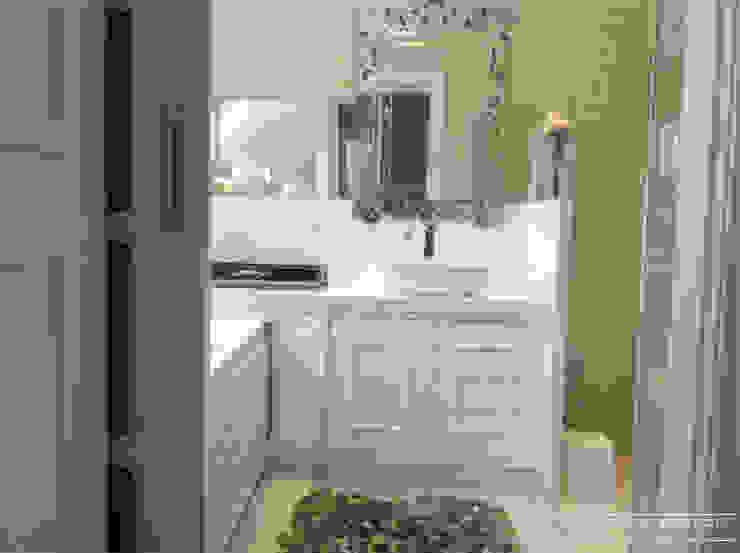 Banheiro romântico Banheiros modernos por Cristiane Bértoli Arquitetura Moderno