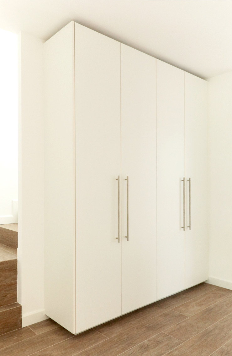 acertus Modern style dressing rooms Wood White