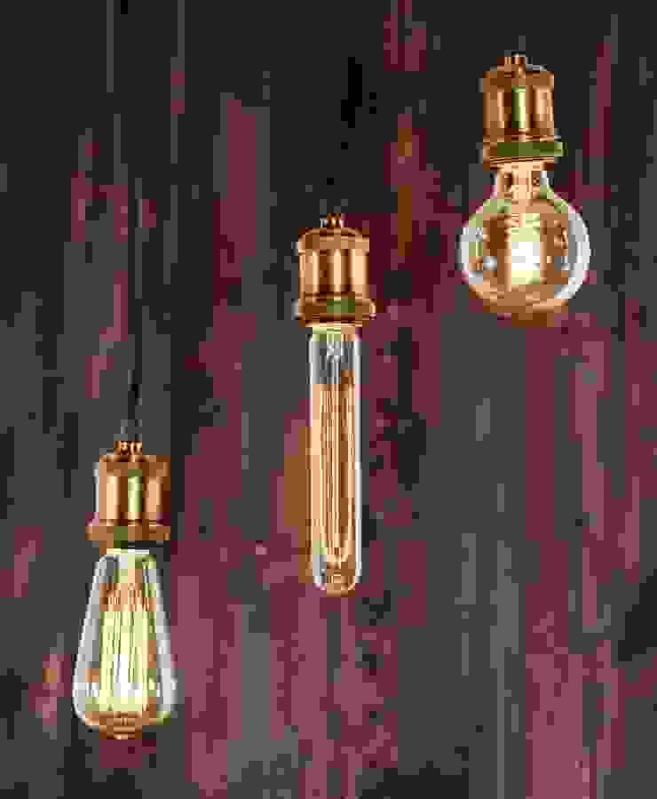 INDUSTRIAL CHIC-ŻARÓWKA EDISON-LAMPA WISZĄCA od Altavola Design Sp. z o.o. Industrialny