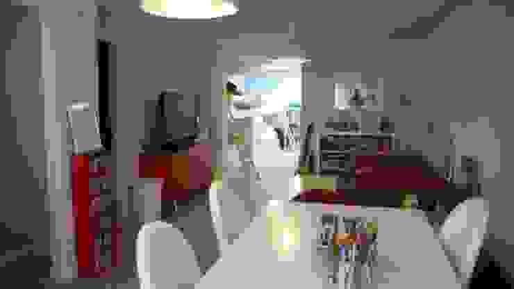 Dormitorio zona de estudio Global Hispana de Construcciones e Interiores, S. L: Dormitorios infantiles de estilo moderno