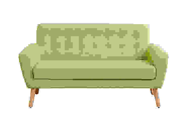 Sexton 2 Seater Sofa, Retro Green de homify Minimalista