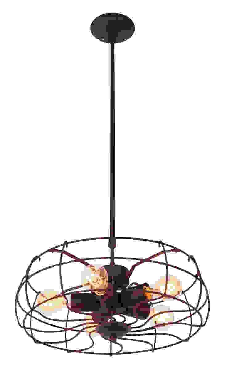 ROMA LOFT NO. 4-RUSTYKALNA LAMPA WISZĄCA od Altavola Design Sp. z o.o. Rustykalny
