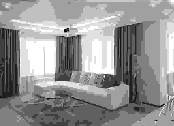 Студия дизайна интерьера Натали Гостиная в стиле модерн от Студия дизайна Натали Модерн