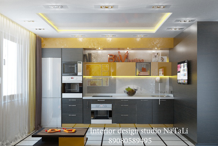 Студия дизайна интерьера Натали Кухня в стиле модерн от Студия дизайна Натали Модерн