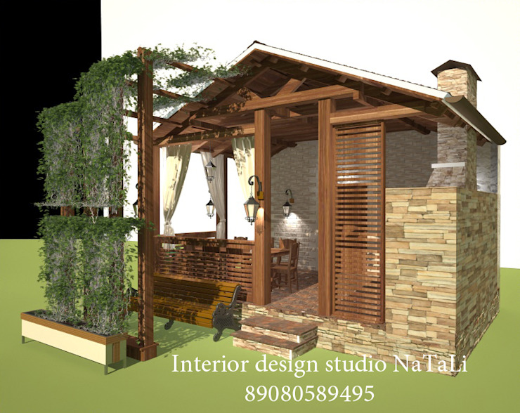 Студия дизайна интерьера Натали Сад в стиле модерн от Студия дизайна Натали Модерн