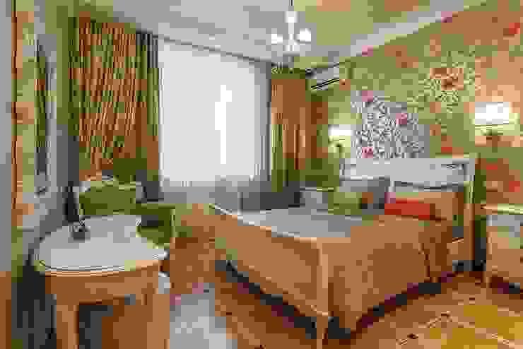 Квартира с архитектурной темой Спальня в классическом стиле от Ольга Макарова (Экодизайн) Классический
