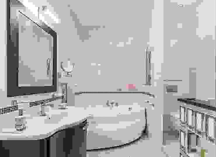 Квартира с архитектурной темой Ванная в классическом стиле от Ольга Макарова (Экодизайн) Классический