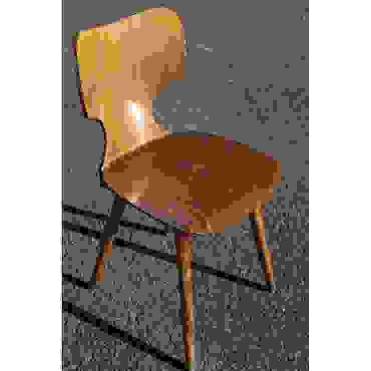 Baumann, Chaise des années 70 Collector Chic SalonChaises & poufs Bois Effet bois