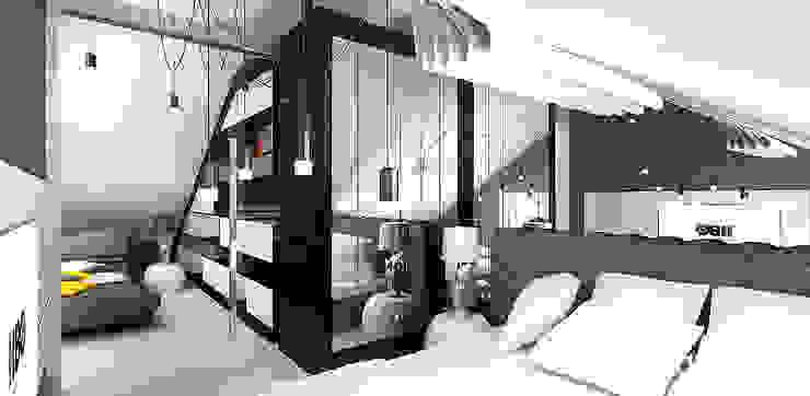 Moderne Schlafzimmer von ARTDESIGN architektura wnętrz Modern