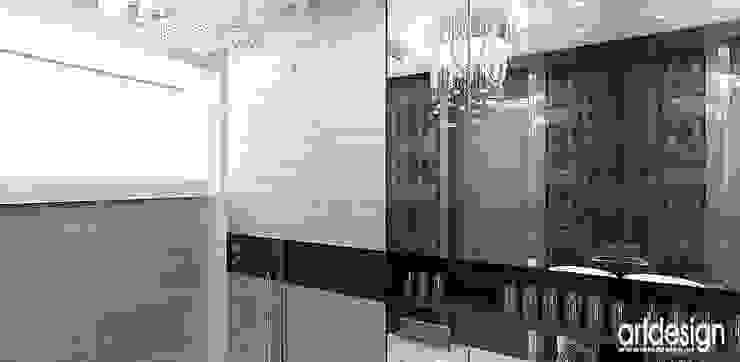 łazienka w apartamencie Nowoczesna łazienka od ARTDESIGN architektura wnętrz Nowoczesny
