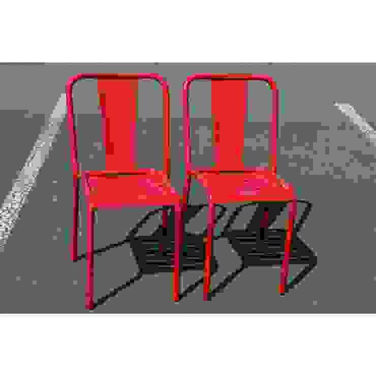 Tolix, lot de 2 chaises T4 Collector Chic CuisineTables, chaises & bancs