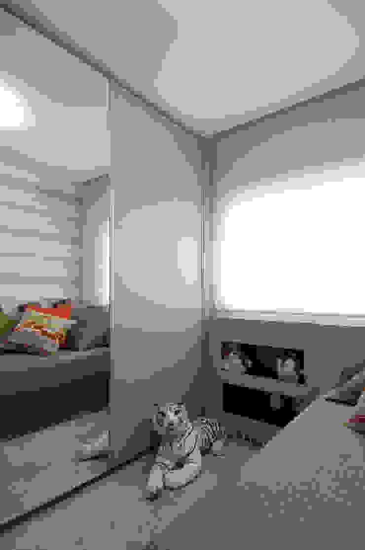 Apartamento Morumbi Quartos clássicos por Figoli-Ravecca Arquitetos Associados Clássico