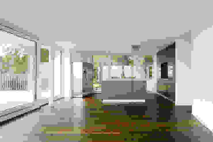 """Wohnüberbauung """"Vinea"""", Rottenschwil (AG) Moderne Wohnzimmer von a4D Architekten AG Modern"""