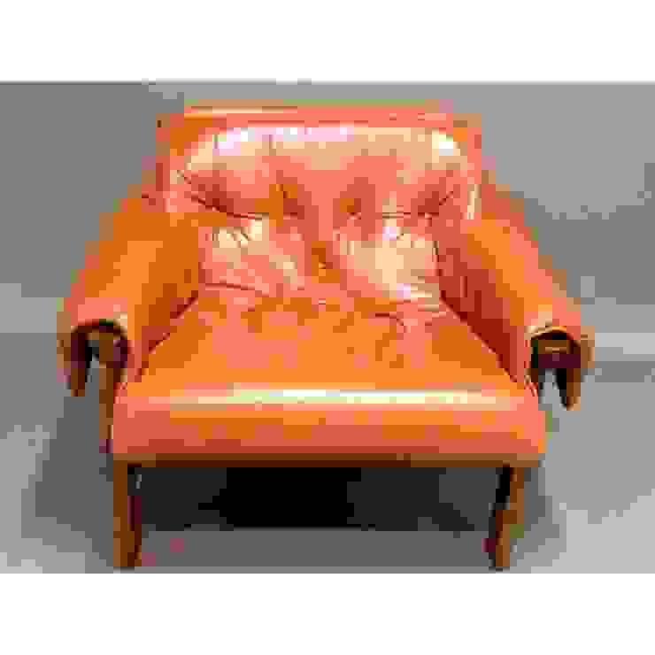 Percival Lafer - fauteuil en cuir Collector Chic SalonCanapés & Fauteuils