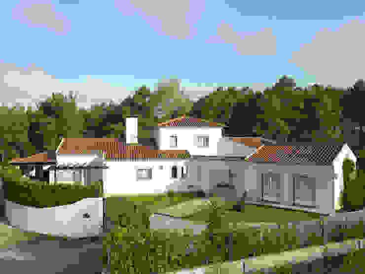 CS Coelho da Silva SA 클래식스타일 주택